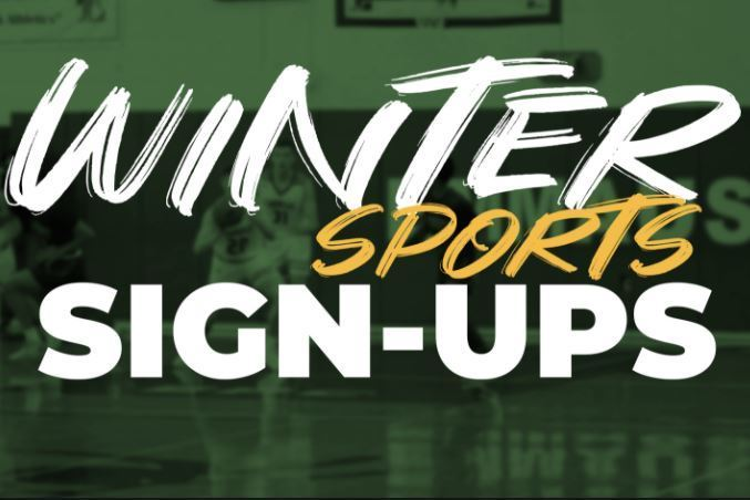 Winter Sports Sign-ups & Update