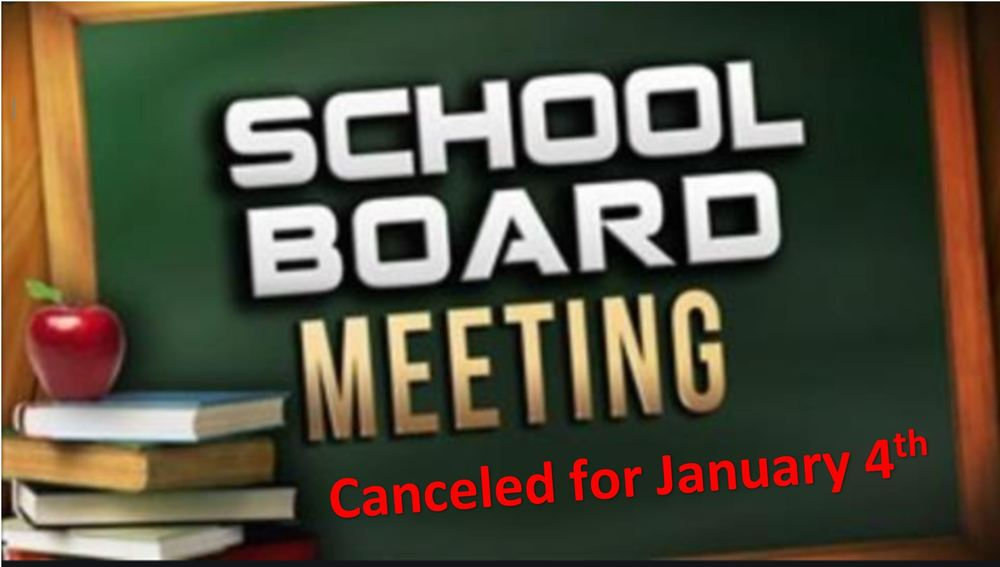 WG Canceled School Board Meeting