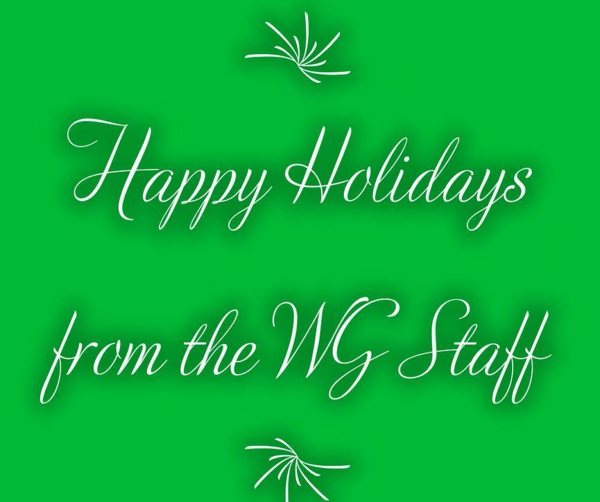 Happy Holidays from WG